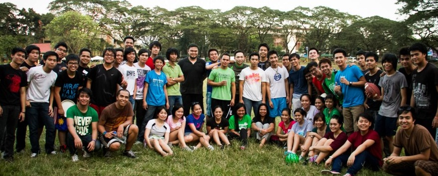 A unique way to celebrate Christmas with the youth at UP  Sunken garden